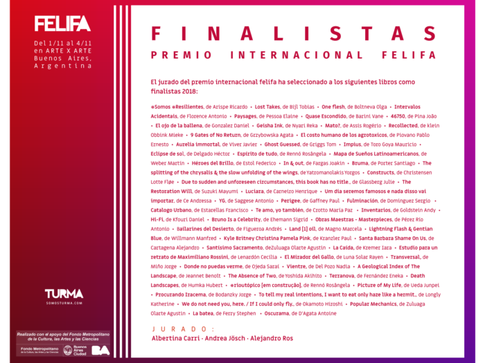 Aurelia Immortal. Photobook selected for the International Prize FELIFA 2018