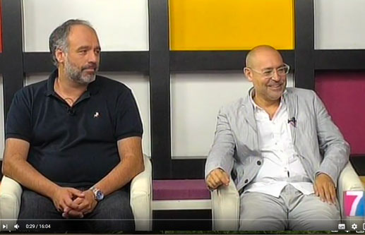 Interview with Javier Viver and David Haro on the occasion of the exhibition at Palacio Munoa