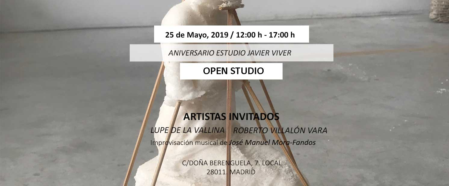 Open Studio, 25 May 2019
