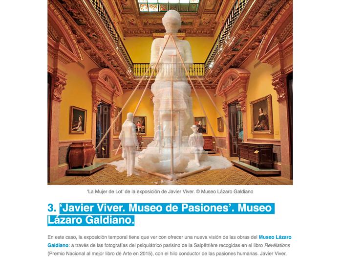 Javier Viver. Museum of Passions. Lazaro Galdiano Museum. Etheria Magazine